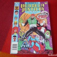 Cómics: EL REGRESO DE LA LIGA DE LA JUSTICIA AMERICA 2 ( JURGENS ) ZINCO DC JLA. Lote 268569889