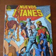 Comics : NUEVOS TITANES Nº 16,17,18,19,20, Y 21 EDICIONES ZINCO. Lote 268732474