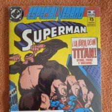 Cómics: SUPERMAN 6 ESPECIAL VERANO-SUPERMAN 7 ESPECIAL PRIMAVERA -ZINCO. Lote 268744499