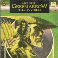 Cómics: MIKE GRELL - GREEN ARROW - LIBRO UNO ZINCO. BARCELONA - 1988. Lote 268796519