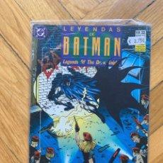 Cómics: LEYENDAS DE BATMAN Nº 22: FE. Lote 268841199