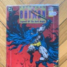 Cómics: LEYENDAS DE BATMAN Nº 23: FE. Lote 268841374