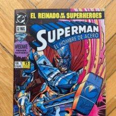 Cómics: SUPERMAN EL HOMBRE DE ACERO Nº 1. Lote 268841599