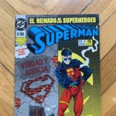 Cómics: SUPERMAN Nº 1 - EL REINADO DE LOS SUPERHÉROES. Lote 268841804