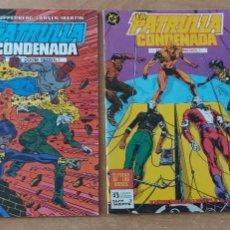 Cómics: LA PATRULLA CONDENADA N° 3 Y 6 DC ZINCO. Lote 268850619