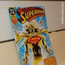 Cómics: SUPERMAN EL HOMBRE DE ACERO Nº 7 DC - ZINCO OFERTA. Lote 268869689