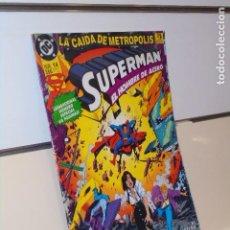 Cómics: SUPERMAN EL HOMBRE DE ACERO Nº 14 LA CAIDA DE METROPOLIS DC - ZINCO. Lote 268870204