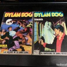 Cómics: DYLAN DOG DE ZINCO. COLECCIÓN COMPLETA EN DOS VOLUMENES RETAPADOS. Lote 268985084