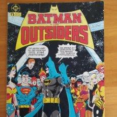 Cómics: BATMAN Y LOS OUTSIDERS Nº 1 - DC - EDICIONES ZINCO (7I). Lote 268992204