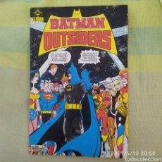 Cómics: BATMAN Y LOS OUTSIDERS Nº 1 - DC - ZINCO. Lote 268992899