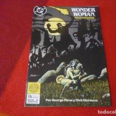 Cómics: WONDER WOMAN Nº 14 ( GEORGE PEREZ ) ¡MUY BUEN ESTADO! DC ZINCO LA MUJER MARAVILLA. Lote 269039948