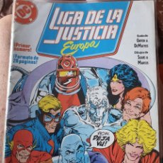 Cómics: LIGA DE LA JUSTICIA DE EUROPA NÚMERO 1 (ZINCO). Lote 269191648
