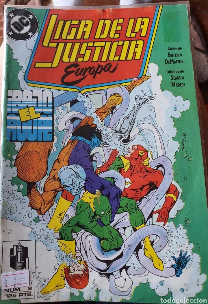 LIGA DE LA JUSTICIA DE EUROPA NÚMERO 2 (ZINCO) (Tebeos y Comics - Zinco - Liga de la Justicia)