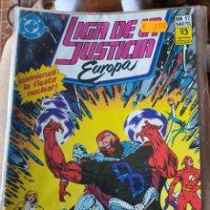 Cómics: LIGA DE LA JUSTICIA DE EUROPA NÚMERO 17 (ZINCO). Lote 269191908