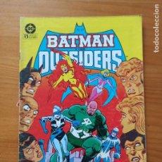 Cómics: BATMAN Y LOS OUTSIDERS Nº 7 - DC - ZINCO (I2). Lote 269209298