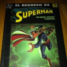 Fumetti: SUPERMAN:EL REGRESO DE SUPERMAN NUMS. 1. Lote 269263448