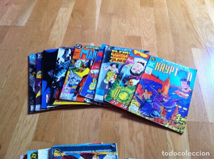 UNIVERSO DC NUMS. 1 AL 6,11 AL 13 (Tebeos y Comics - Zinco - Otros)