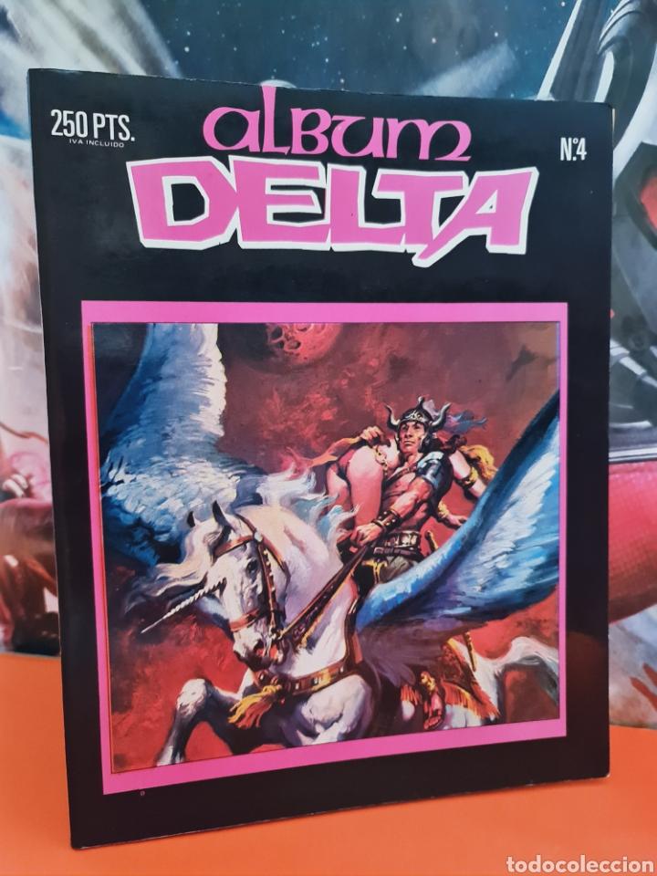 EXCELENTE ESTADO DELTA ALBUM 4 EDICIONES ZINCO (Tebeos y Comics - Zinco - Retapados)