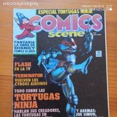 Cómics: COMICS SCENE Nº 2 - ESPECIAL TORTUGAS NINJA - ZINCO (I1). Lote 269391073