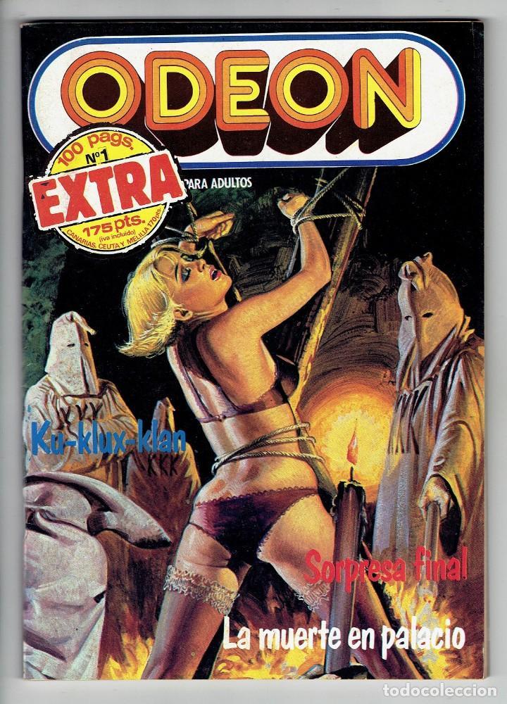 ODEON Nº 1 EXTRA - 100 PÁG. SORPRESA FINAL - LA MUERTE EN PALACIO - ZINCO 1987 (Tebeos y Comics - Zinco - Otros)