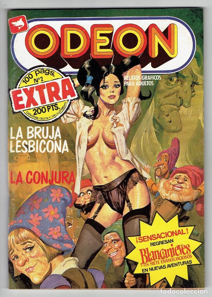 ODEON Nº 2 EXTRA - 100 PÁG. LA BRUJA LESBICONA - LA CONJURA - EDICIONES ZINCO (Tebeos y Comics - Zinco - Otros)