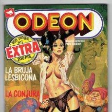 Cómics: ODEON Nº 2 EXTRA - 100 PÁG. LA BRUJA LESBICONA - LA CONJURA - EDICIONES ZINCO. Lote 269393318