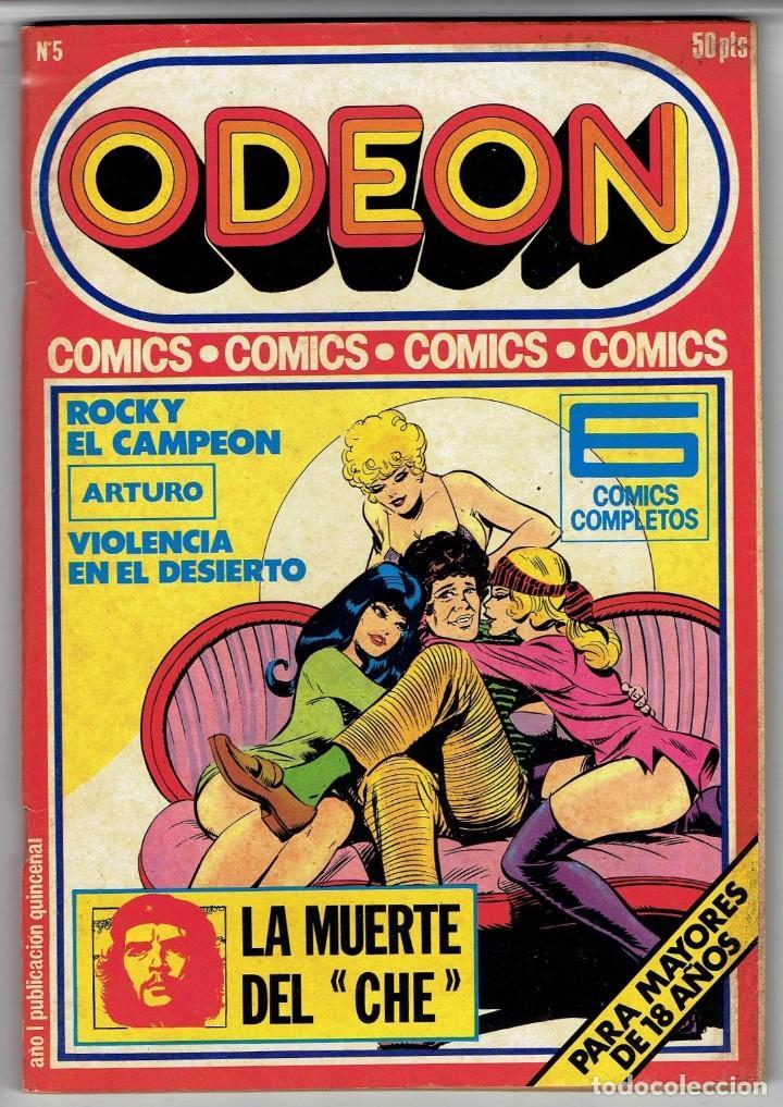 ODEON Nº 5 - ROCKY EL CAMPEÓN - ARTURO - VIOLENCIA EN EL DESIERTO - EDICIONES ZINCO (Tebeos y Comics - Zinco - Otros)