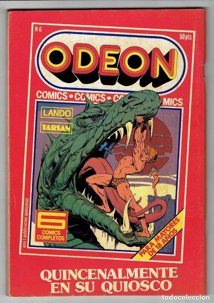 Cómics: ODEON Nº 5 - ROCKY EL CAMPEÓN - ARTURO - VIOLENCIA EN EL DESIERTO - EDICIONES ZINCO - Foto 2 - 269393738