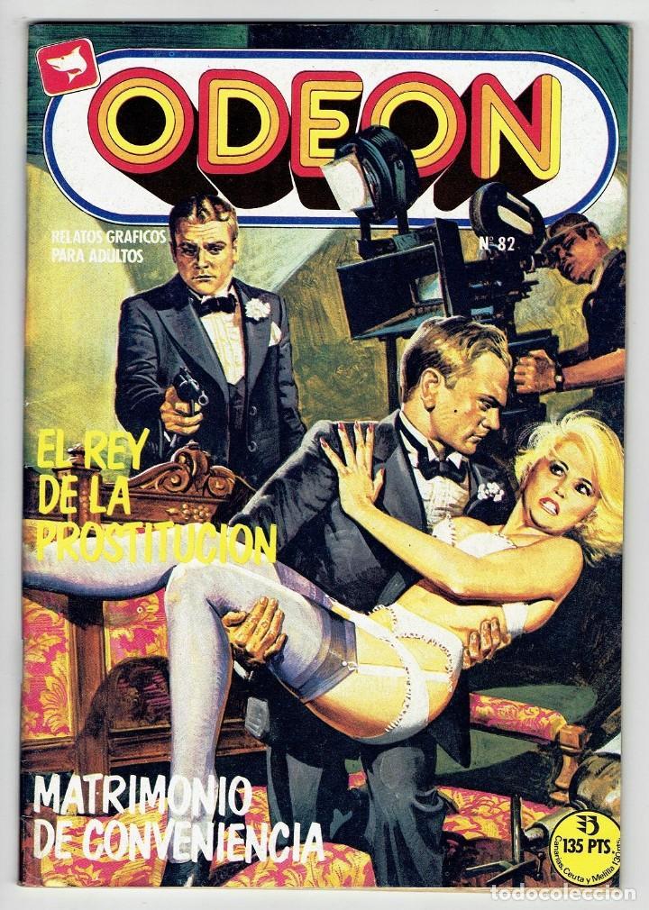 ODEON Nº 82 - EL REY DE LA PROSTITUCIÓN - MATRIMONIO DE CONVENIENCIA - EDICIONES ZINCO (Tebeos y Comics - Zinco - Otros)