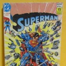 Cómics: SUPERMAN 30. NÚMEROS 104 AL 108. JURGENS Y THIBERT **COMO NUEVO**. Lote 269410723