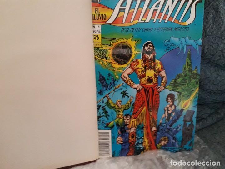 Cómics: TOMO ENCUADERNADO Cronicas de Atlantis de Peter David & Maroto, Zinco 1991 - Foto 3 - 269439838