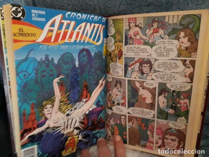 Cómics: TOMO ENCUADERNADO Cronicas de Atlantis de Peter David & Maroto, Zinco 1991 - Foto 5 - 269439838