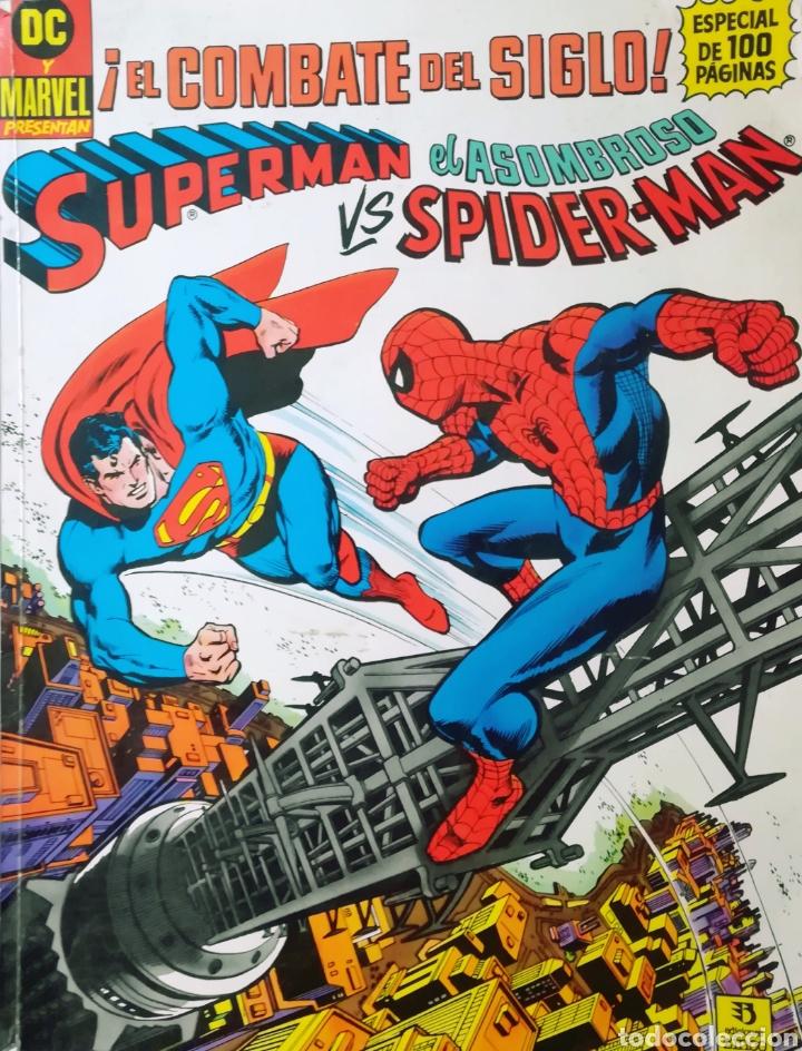 SUPERMAN VS SPIDER-MAN (Tebeos y Comics - Zinco - Superman)