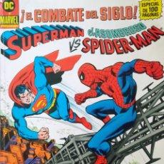 Cómics: SUPERMAN VS SPIDER-MAN. Lote 269443833