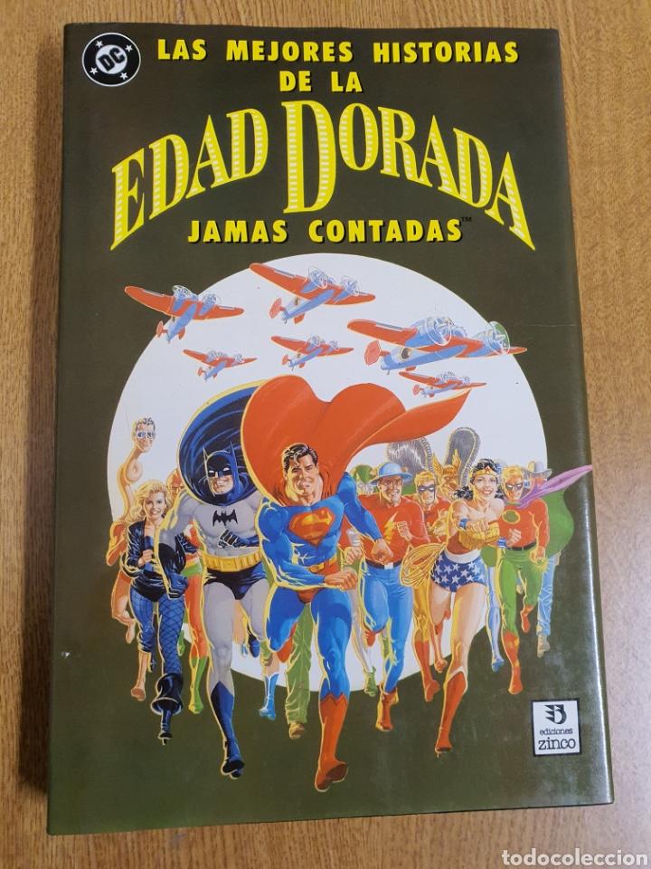 LAS MEJORES HISTORIAS DE LA EDAD DORADA JAMÁS CONTADAS , EDICIONES ZINCO , TAPA DURA (Tebeos y Comics - Zinco - Prestiges y Tomos)