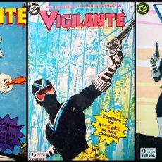 Cómics: VIGILANTE (LOTE DE 3 RETAPADOS). Lote 269650708