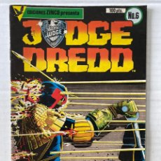 Cómics: JUDGE DREDD #6 - ZINCO. Lote 269734433