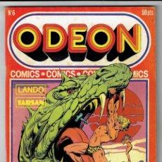 Cómics: ODEON Nº 6 - LANDO - TARSAN - 100 PAG. - EDICIONES ZINCO 1977. Lote 269752213