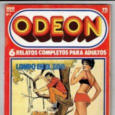 Cómics: ODEON Nº 7 - LANDO EN EL ZOO - EL SOSIAS - EL ACUARIO DE LA MUERTE - 100 PAG. - EDICIONES ZINCO. Lote 269752383