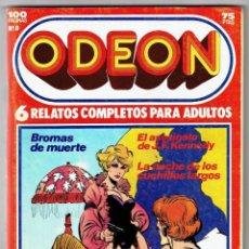 Cómics: ODEON Nº 8 - BROMAS DE MUERTE - EL ASESINO DE J.F. KENNEDY - 100 PAG. - EDICIONES ZINCO. Lote 269753098