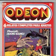 Cómics: ODEON Nº 9 - PLAYCOLT, BANG-BANG - ELTÚNEL DEL AMOR - KAMIKAZE - 100 PAG. - EDICIONES ZINCO. Lote 269753343