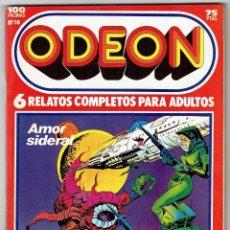Cómics: ODEON Nº 10 - AMOR SIDERAL - LOS CABALLEROS DEL AIRE - 100 PAG. - EDICIONES ZINCO. Lote 269753493