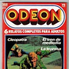 Cómics: ODEON Nº 11 - CLEOPATRA - EL TREN DE MEDIODÍA - LA LEPROSA - 100 PAG. - EDICIONES ZINCO. Lote 269753583