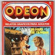 Cómics: ODEON Nº 14 - EL HIJO DE TARSAN - TAXISTAS DE A PIE - 'GATA LA LADRONA' - 100 PAG. - EDICIONES ZINCO. Lote 269753663