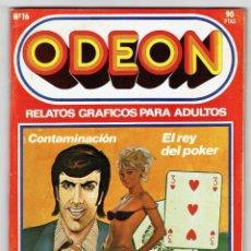 Cómics: ODEON Nº 16 - CONTAMINACIÓN - EL REY DEL POKER - KING KONG EN PARÍS - 100 PAG. - EDICIONES ZINCO. Lote 269753783