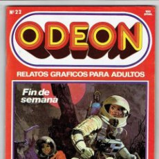 Cómics: ODEON Nº 22 - FIN DE SEMANA - TÉ PARA DOS - EL REPORTERO - 100 PAG. - EDICIONES ZINCO. Lote 269753843
