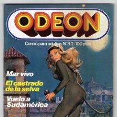 Cómics: ODEON Nº 30 - MAR VIVO - EL CASTRADO DE LA SELVA - VUELO A SUDAMÉRICA - EDICIONES ZINCO. Lote 269753903