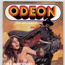 Cómics: ODEON Nº 39 - UNA INFERNAL SED DE SANGRE - EL ''TIGRE'' - EDICIONES ZINCO. Lote 269754158