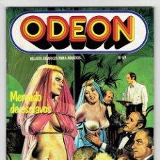 Cómics: ODEON Nº 69 - MORFINA - MERCADO DE ESCLAVOS - UNA MISIÓN DELICADA - EDICIONES ZINCO. Lote 269754383