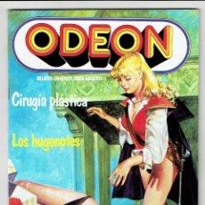 Cómics: ODEON Nº 70 - CIRUGÍA PLÁSTICA - LOS HUGONOTES - EDICIONES ZINCO. Lote 269754463